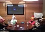 В особняке Фила Айви состоялась игра в покер в масках зверей