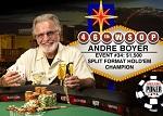 250 000$ получил Андре Бойер за победу в 34-ом событии на WSOP 2015